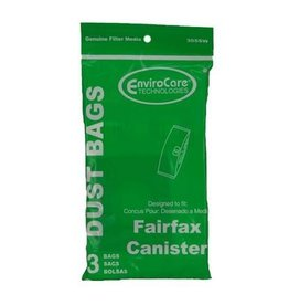 EnviroCare Fairfax Canister Bag (3pk)