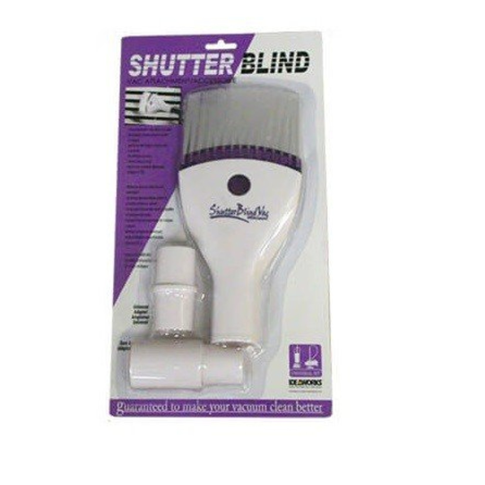 Central Vacuum Shutter Blind Attachment