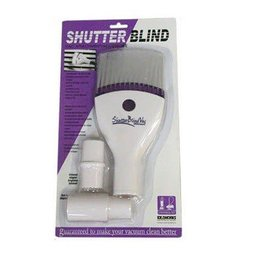 Central Vacuum Shutter Blind Attachment