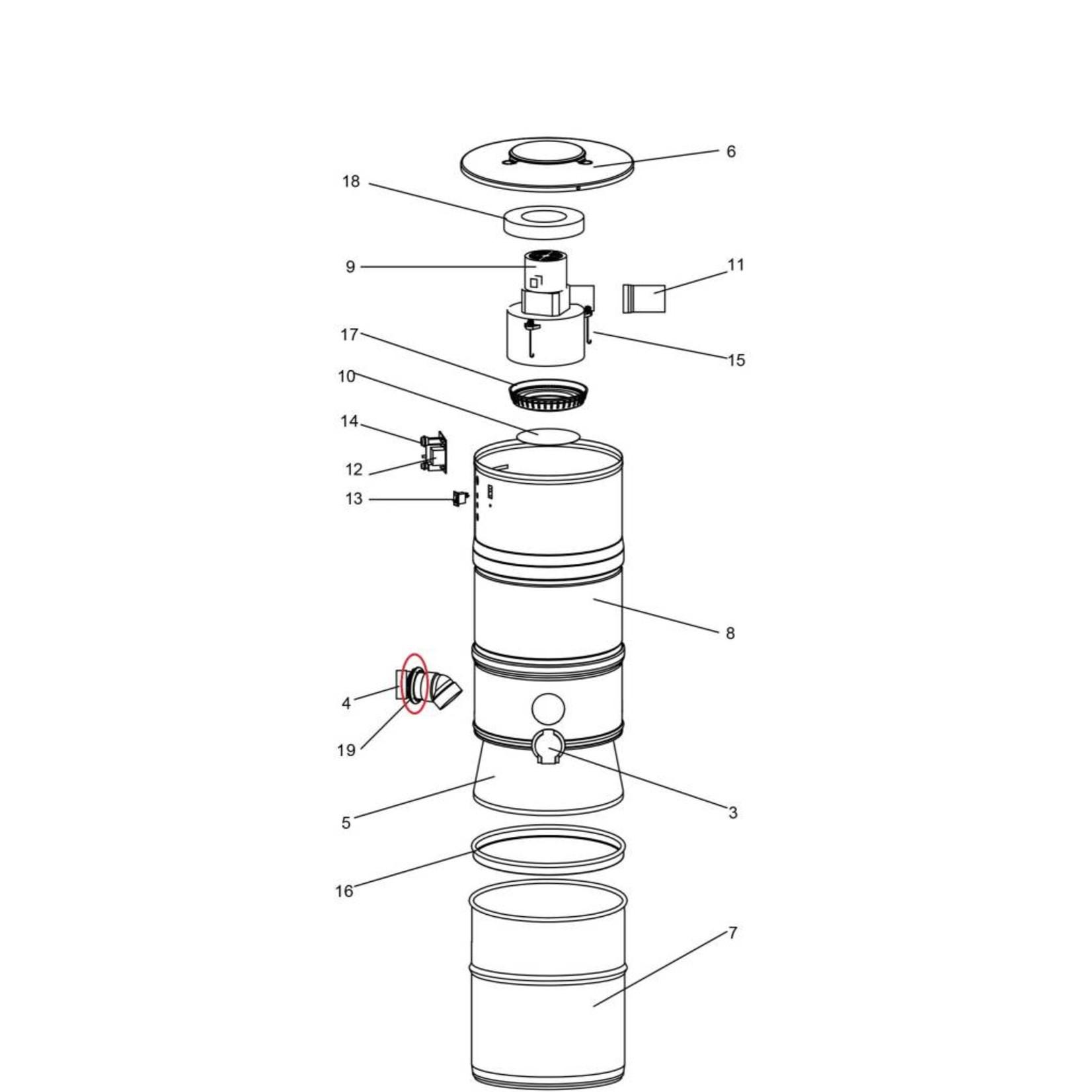BEAM Beam Power Unit Utility Inlet Grommet