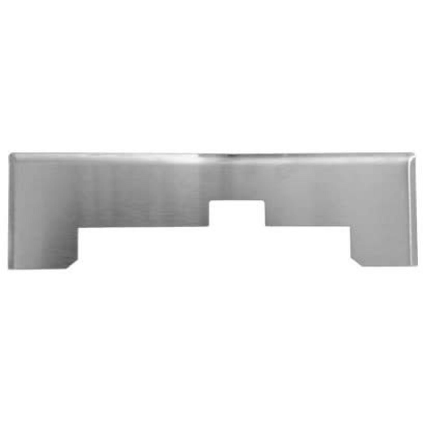 Plastiflex Central Vacuum VacPan Trim Plate - Stainless Steel