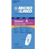 Bissell DVC Hoover A, Kenmore 5037 & Bissell Style 2 Bags - 3pk