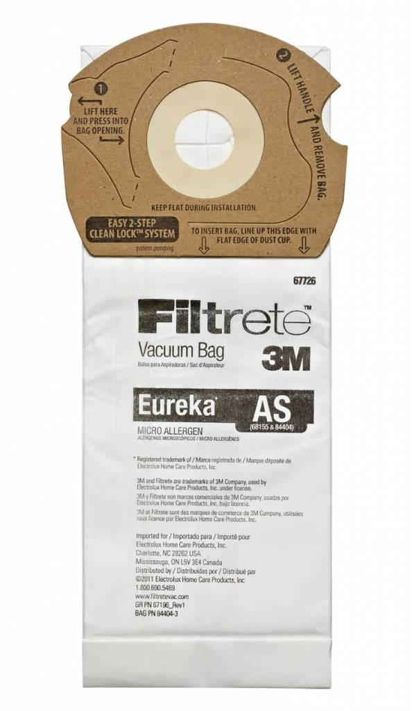 """Filtrete DVC Eureka Type """"AS"""" Bags (3pk)"""