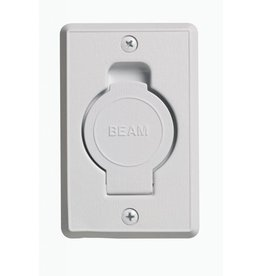 Plastiflex Beam Round Door Valve (Low Volt) - White