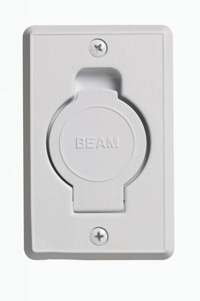 Plastiflex Beam Round Door Valve (Low Volt) - White