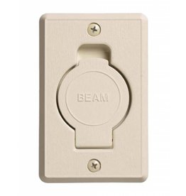 Beam Round Door Valve (Low Volt) - Ivory