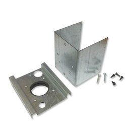 Swiss Boy Vacuum Central Vacuum Steel Surface Mount Box for Low Voltage Valve