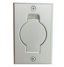 Vaculine Vaculine Round Door Valve (Low Volt) - Smooth White