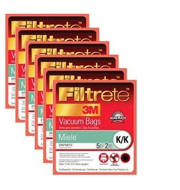 3M Filtrete Miele K/K Synthetic Bag (Box of 6)