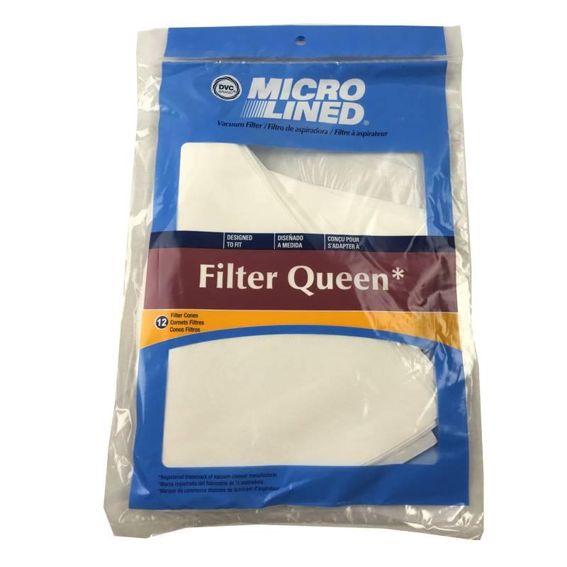 Filter Queen DVC Filter Queen Cone Filters - 12pk