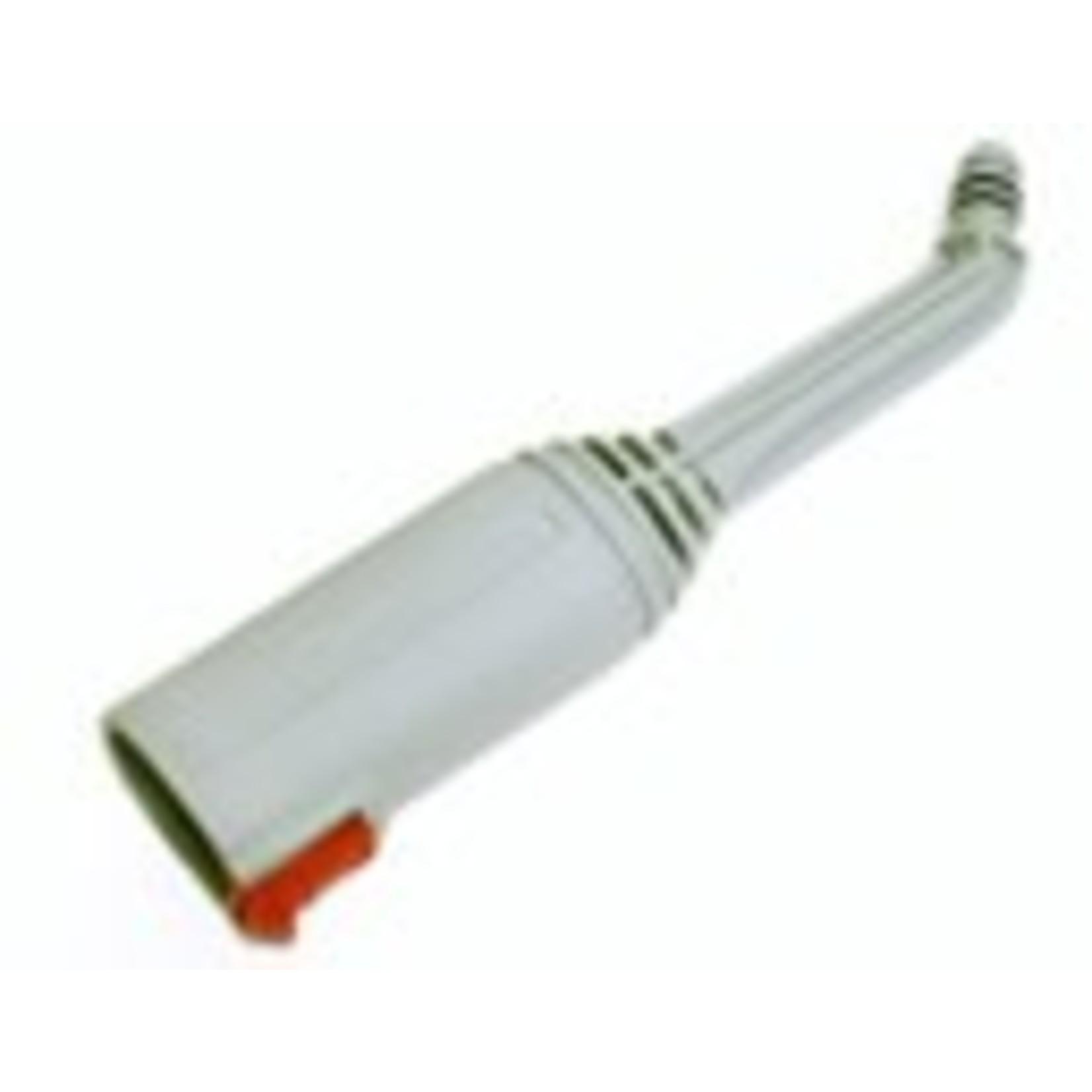 Advanced Vapor Advanced Vapor Extension Nozzle w/ O-Ring - Grey