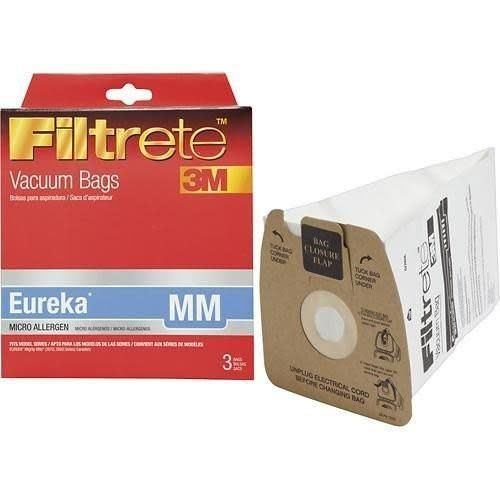"""Electrolux Filtrete 3M Eureka Style """"MM"""" Bag - Box of 6"""