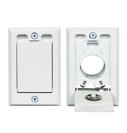 Hayden Hayden Low Volt Square Door Inlet Valve- White