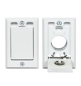 Hayden Hayden Low Volt Square Door Inlet - White