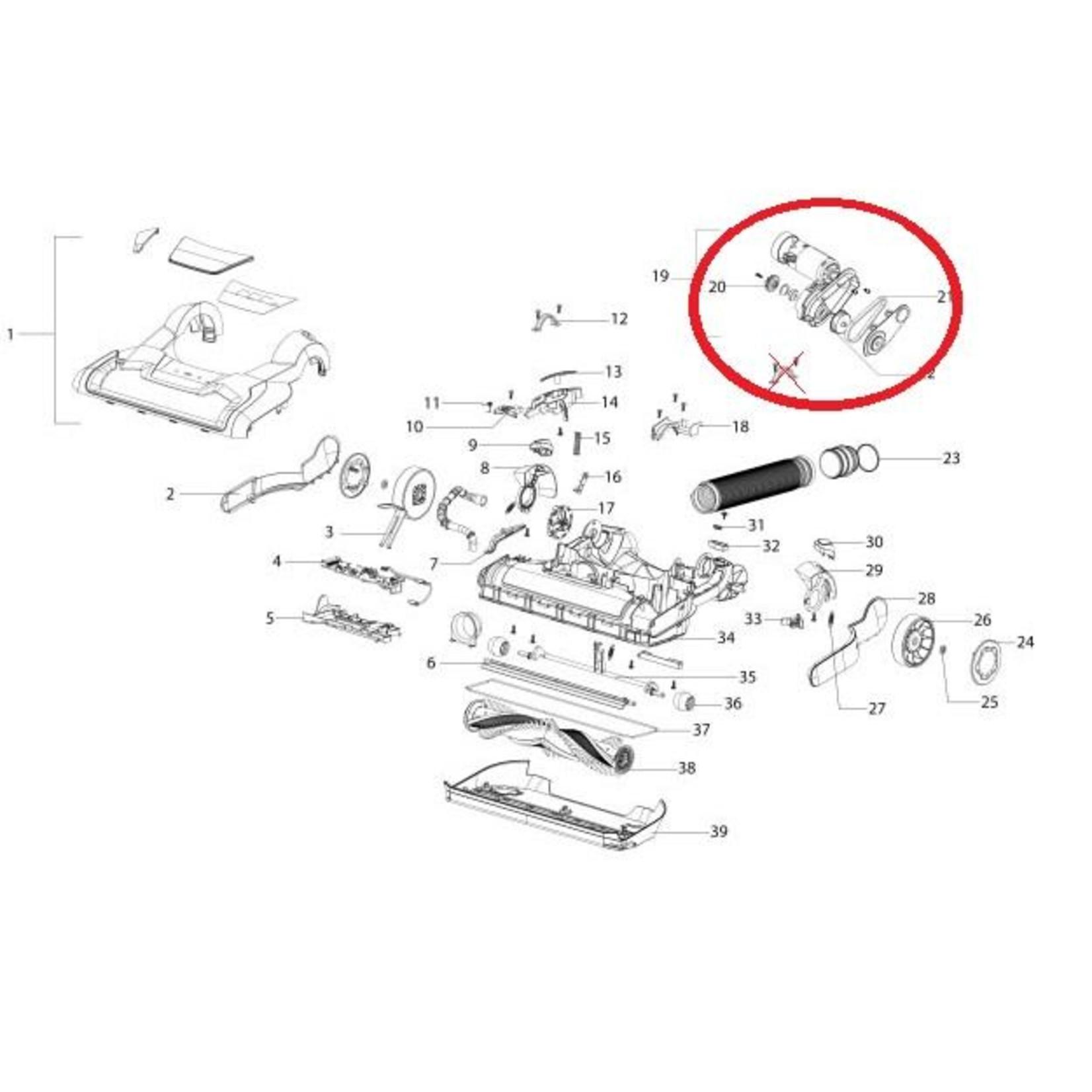 BEAM BEAM Precision Motor Housing Assembly