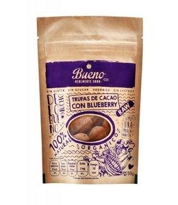 Bueno Co. Trufas de Cacao con Blueberry  50g