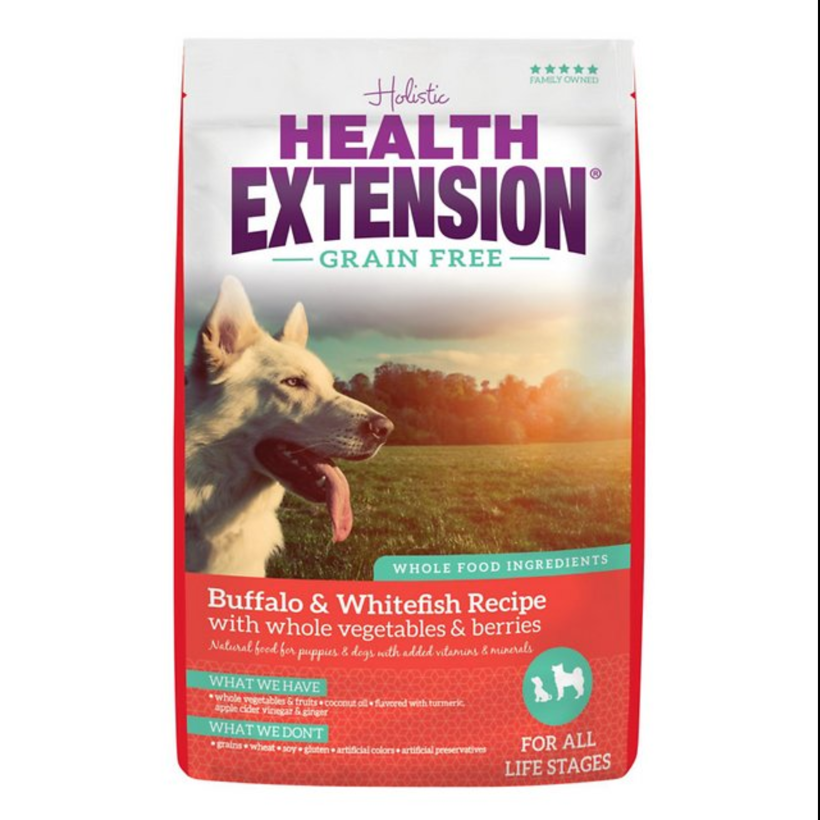 Health Extension Buffalo & Whitefish Dog Food