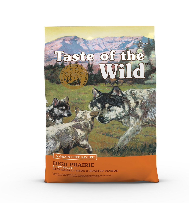 TASTE OF THE WILD High Prarie Puppy GF Dog Food