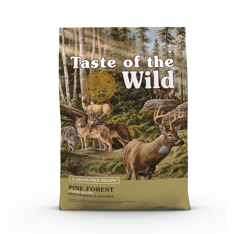TASTE OF THE WILD Pine Forest GF Dog Food