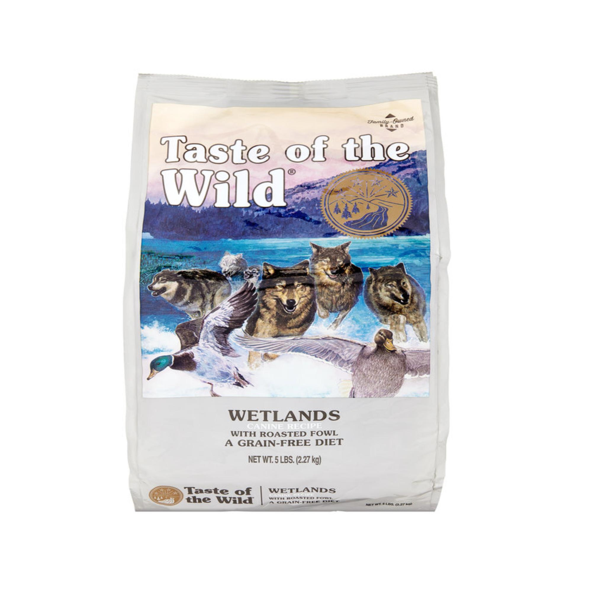 TASTE OF THE WILD Wetlands GF Dog Food