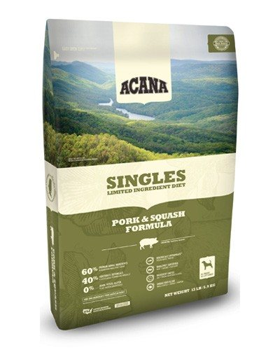 Acana Singles Pork & Squash GF Dog Food
