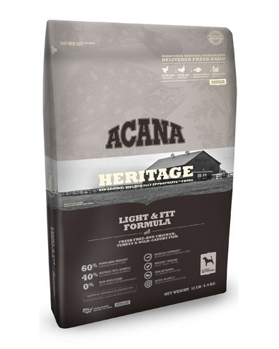 Acana Heritage Light & Fit GF Dog Food
