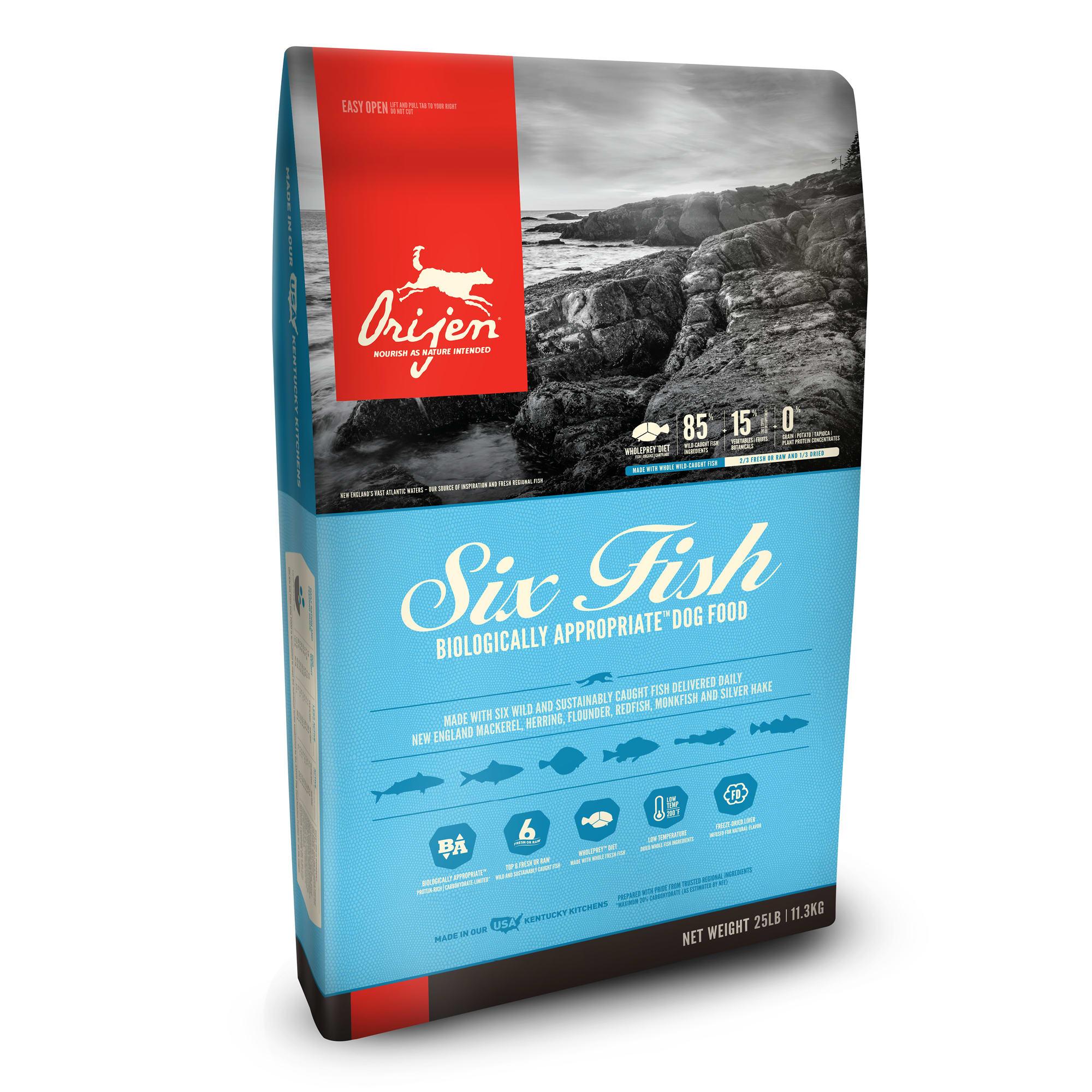 Orijen Six Fish GF Dog Food