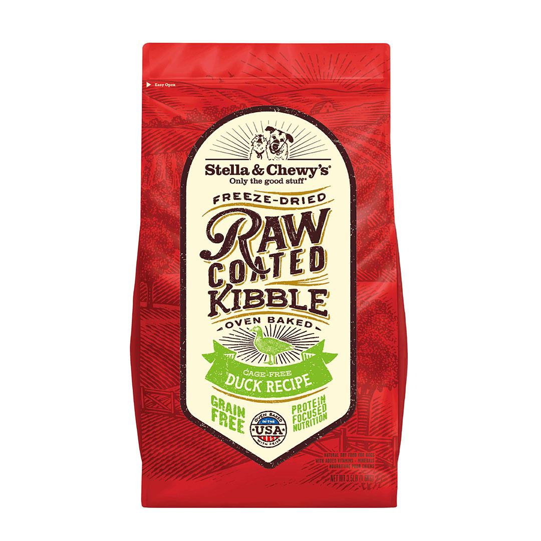 STELLA & CHEWY'S Raw Coated Duck GF Dog Food