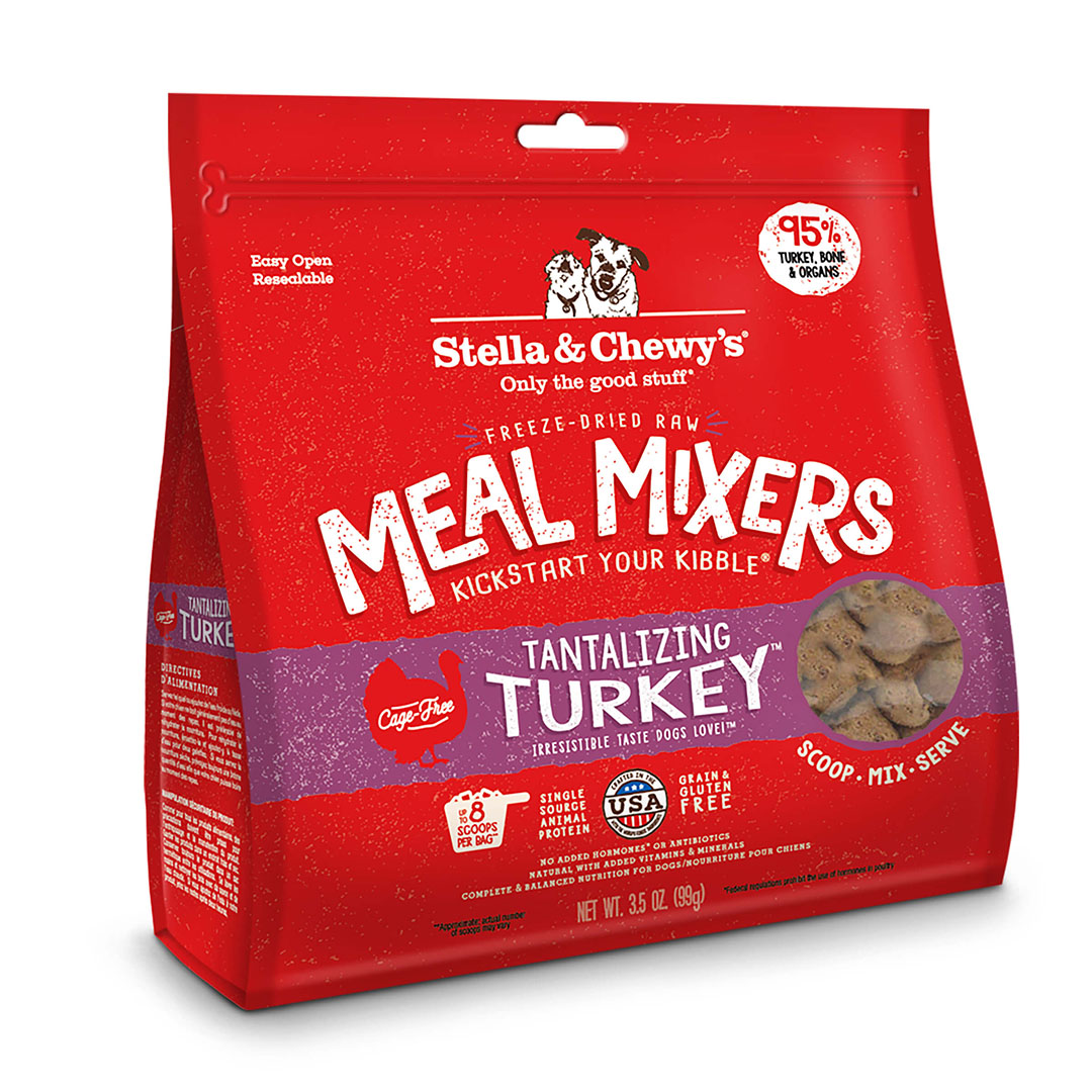 STELLA & CHEWY'S Turkey Freeze Dried Meal Mixers Dog Food