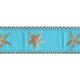 PRESTON Aqua Starfish Dog Collar
