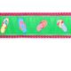 PRESTON Green Flip Flop Dog Collar