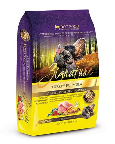 Zignature Turkey GF Dog Food