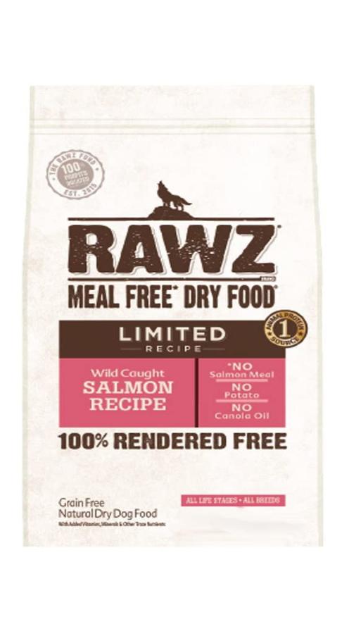 RAWZ Limited Recipe Salmon  GF Dog Food