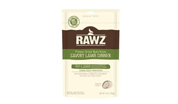 RAWZ Freeze Dried Lamb Dinner Dog Food