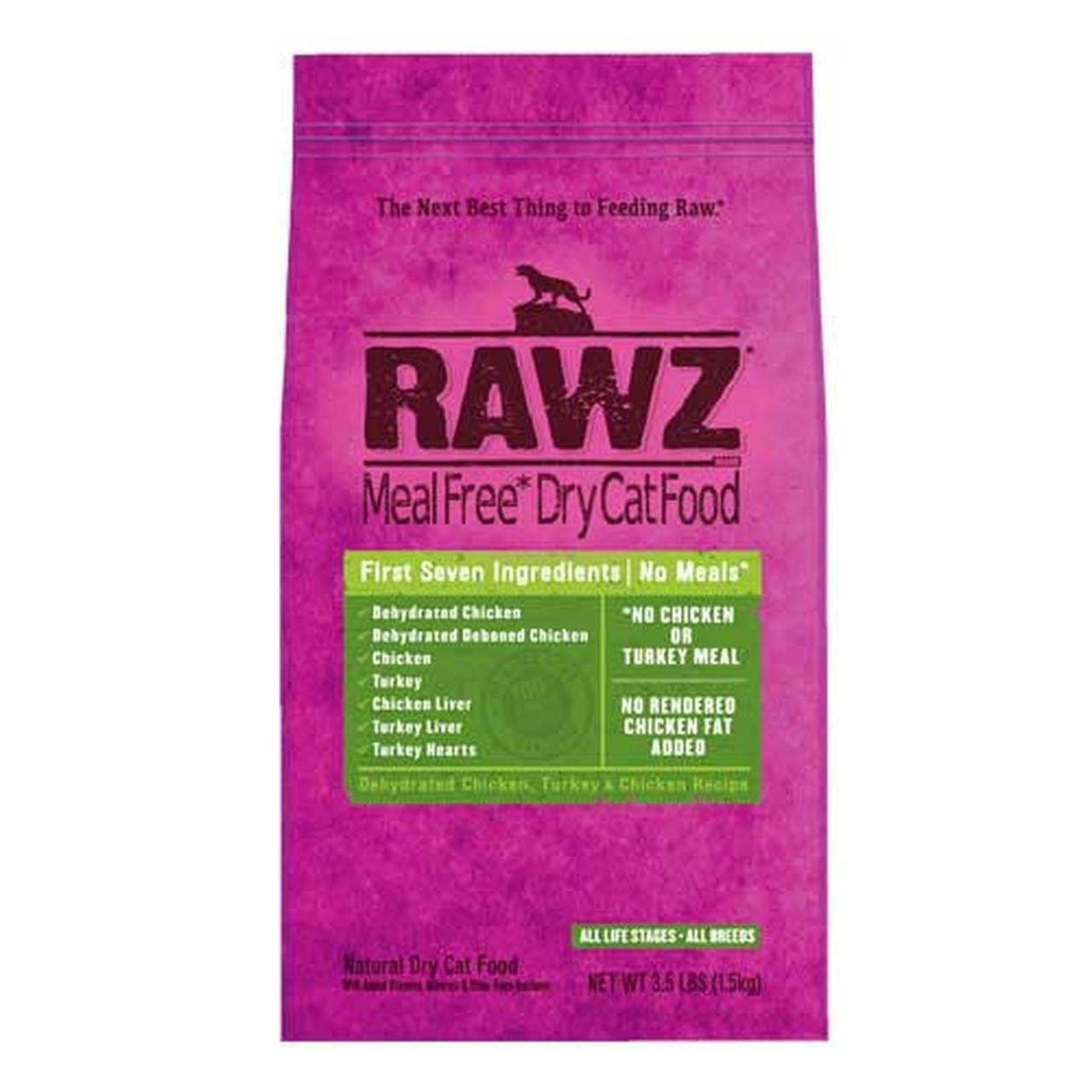 RAWZ Meal Free Chicken&Turkey Dry Cat Food