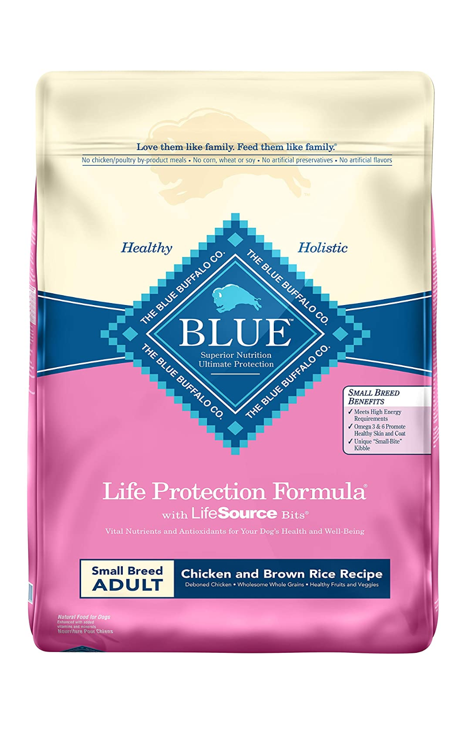 Blue Buffalo Small Breed Chicken & Brown Rice Dog Food