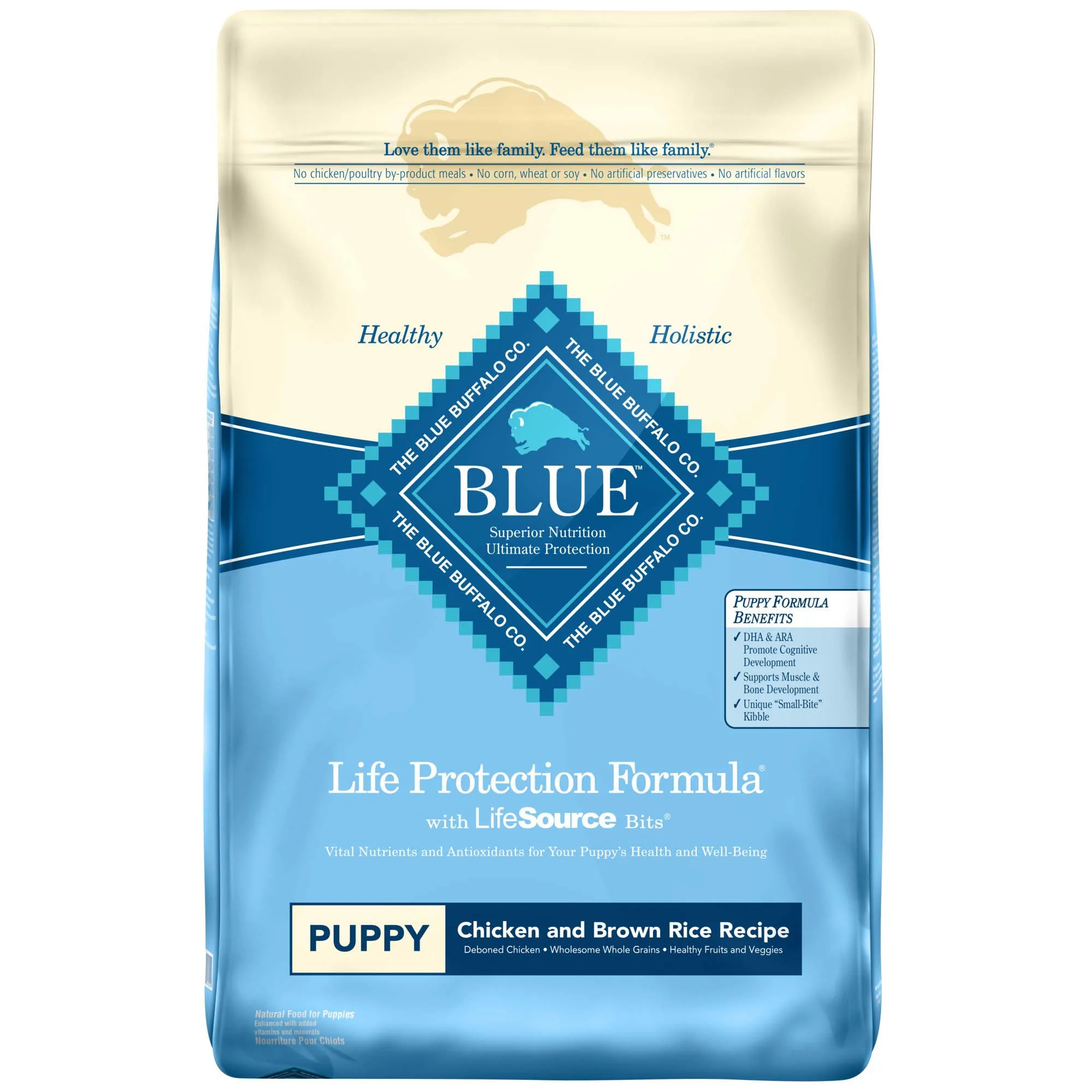 Blue Buffalo Puppy Chicken & Rice Dog Food