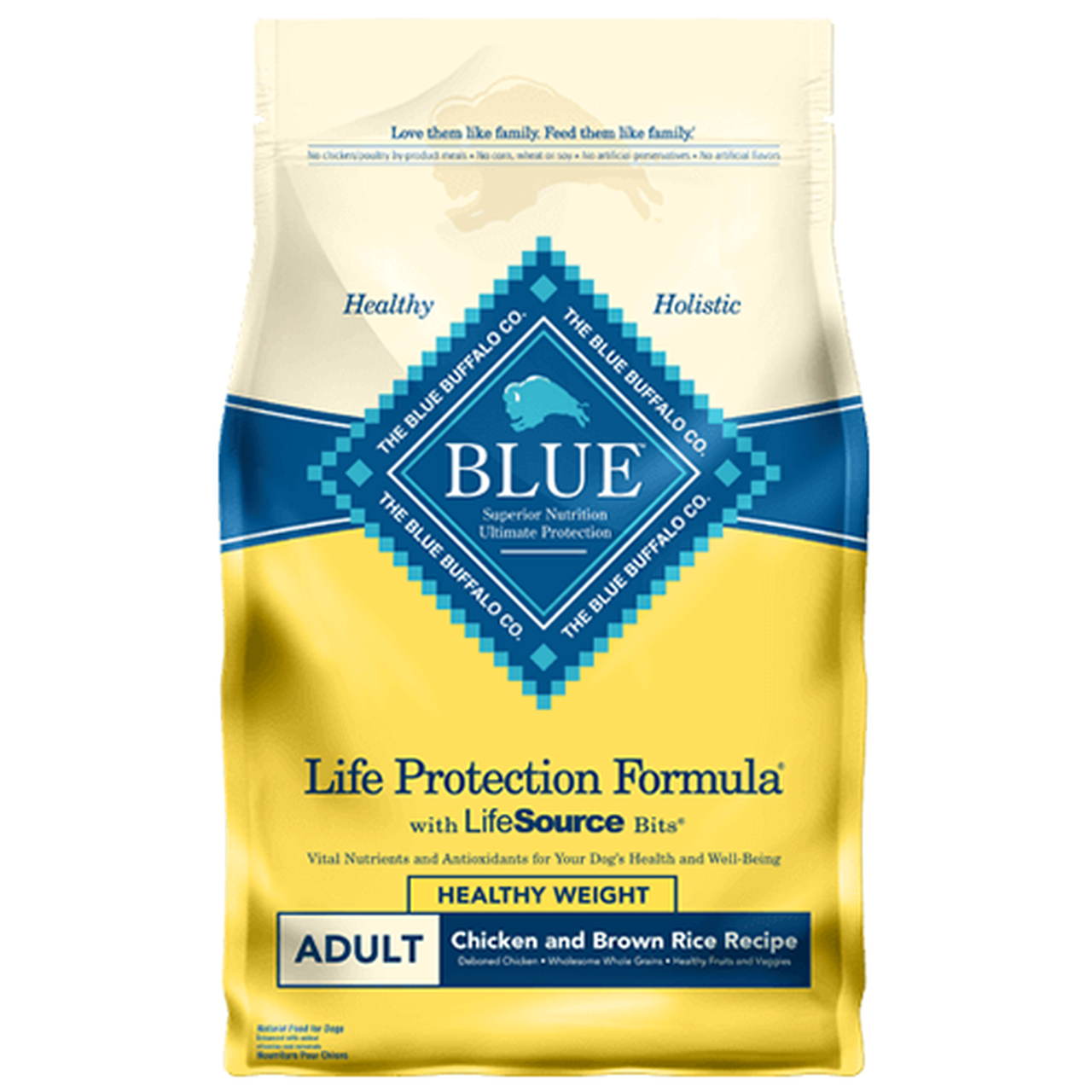 Blue Buffalo Healthy Weight Chicken & Rice Dog Food