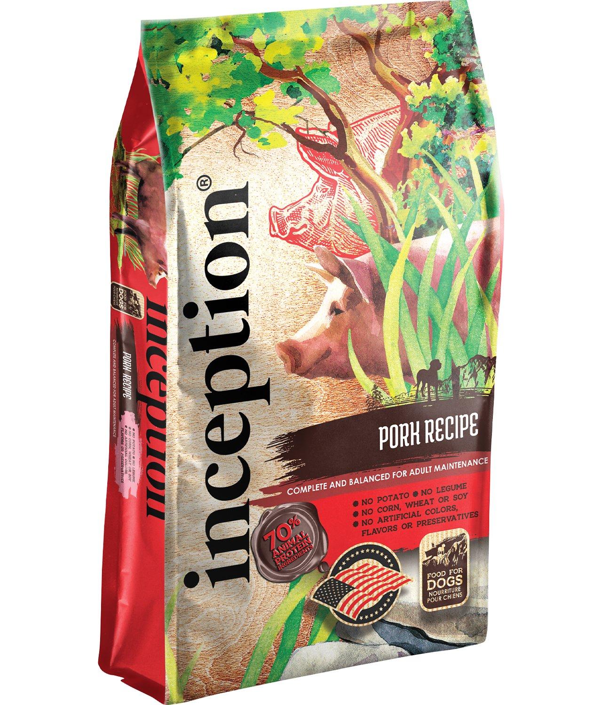 Inception Pork Recipe Dog Food