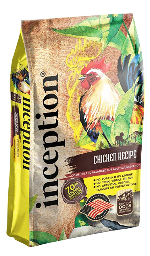 Inception Chicken Meal Recipe Dog Food