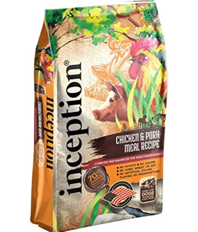 Inception Chicken&Pork Meal Recipe Dog Food
