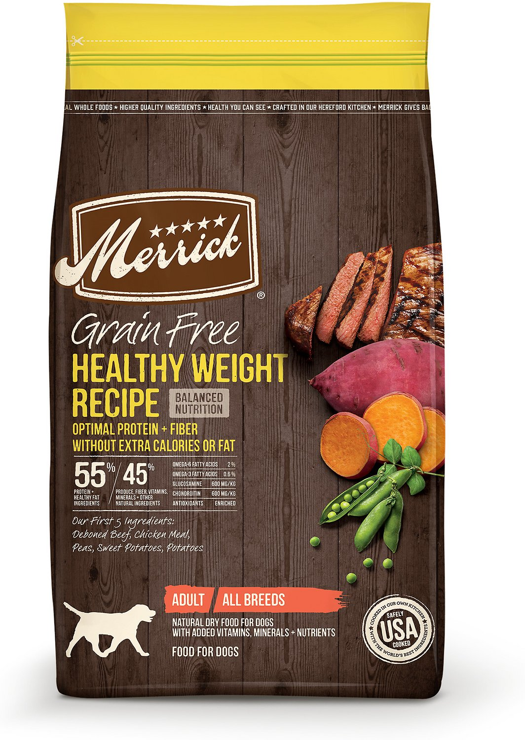 Merrick Pet  Foods Healthy Weight Small Breed Chicken & Brown Rice Dog Food