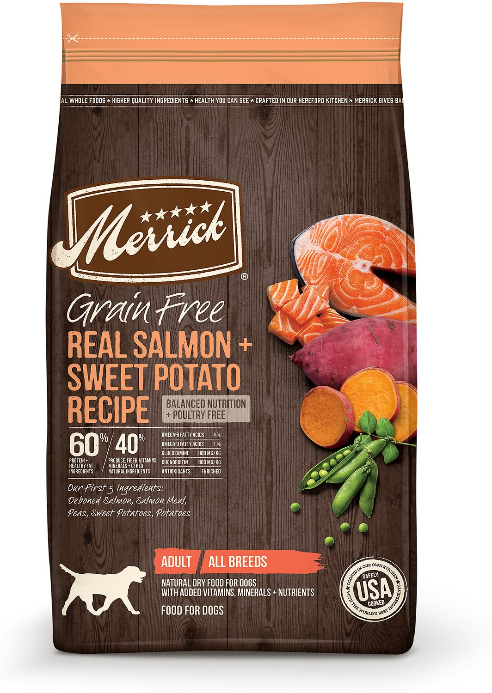 Merrick Salmon & Sweet Potato GF Dog Food