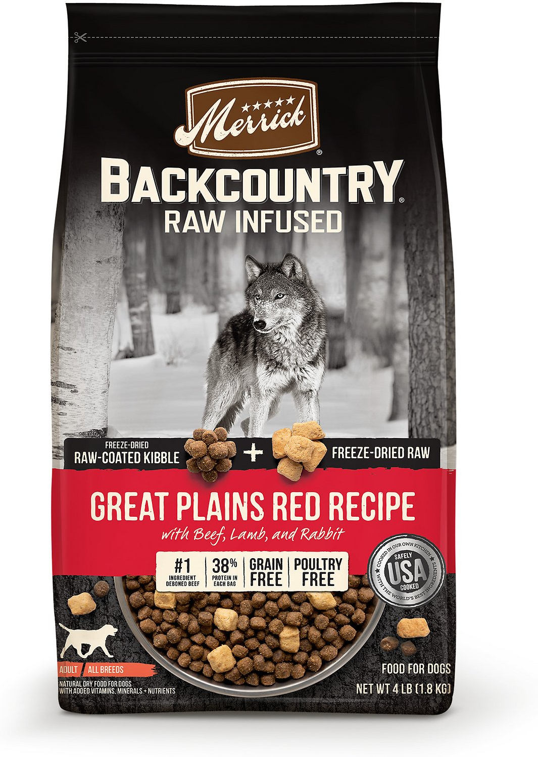 Merrick Pet  Foods Backcountry Great Plains GF Dog Food