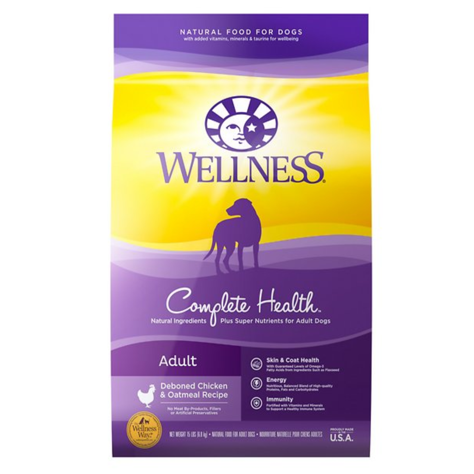 Wellness CH Chicken & Oatmeal Dog Food