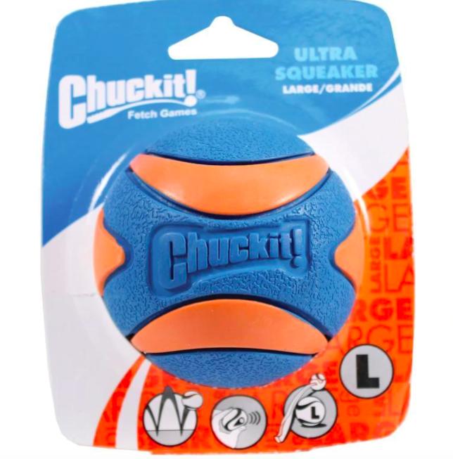 Chuckit! CHUCKIT! D ULTRA SQKR BALL LG