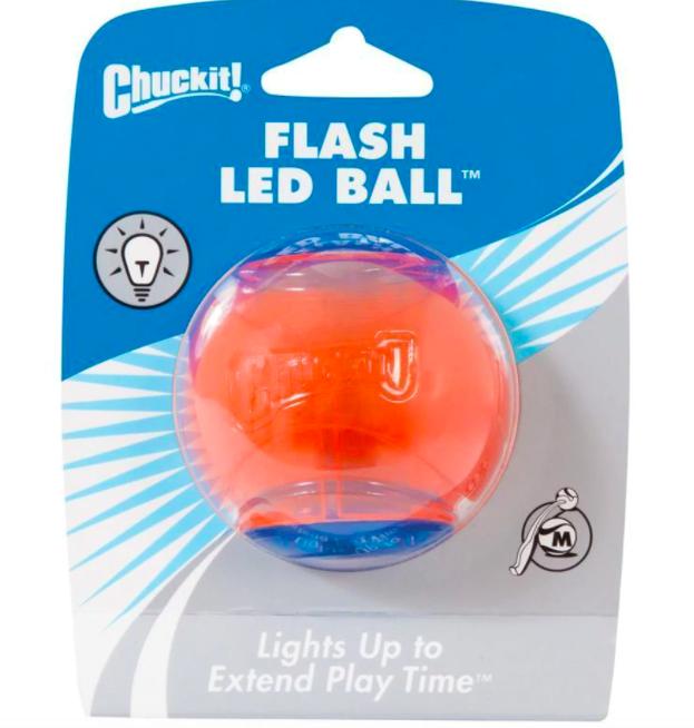 Chuckit! CHUCKIT! STROBE LED BALL MD 12
