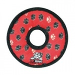 TUFFY'S DOG TOYS TUFFY JR RED PAW RING