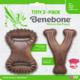Benebone BENEBONE TINY 2PK CHEWS