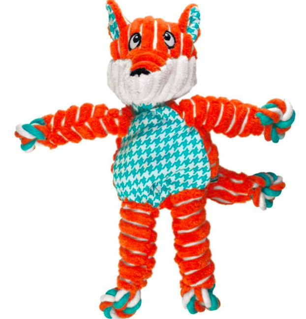 KONG FLOPPY KNOTS FOX MD/LG 24